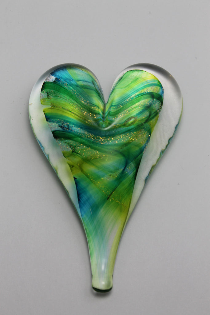 Heart Paperweight Large