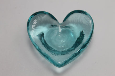 Glass Bowl, Aqua