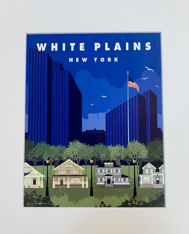 White Plains Wall Art