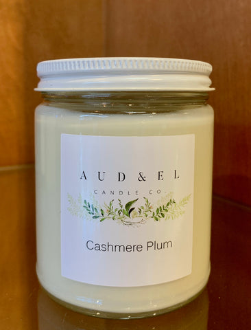 Cashmere Plum - Candle