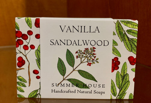 Bar Soap- Vanilla Sandalwood