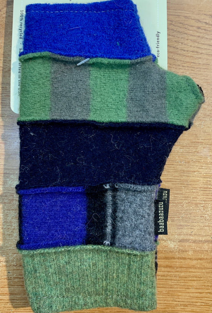 Mismatched Fingerless Gloves