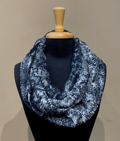 Faux Fur Infinity Scarf- ASSORTED