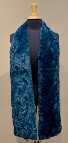 Classic Faux Fur Scarf- ASSORTED