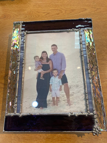Stained Glass Photo Box