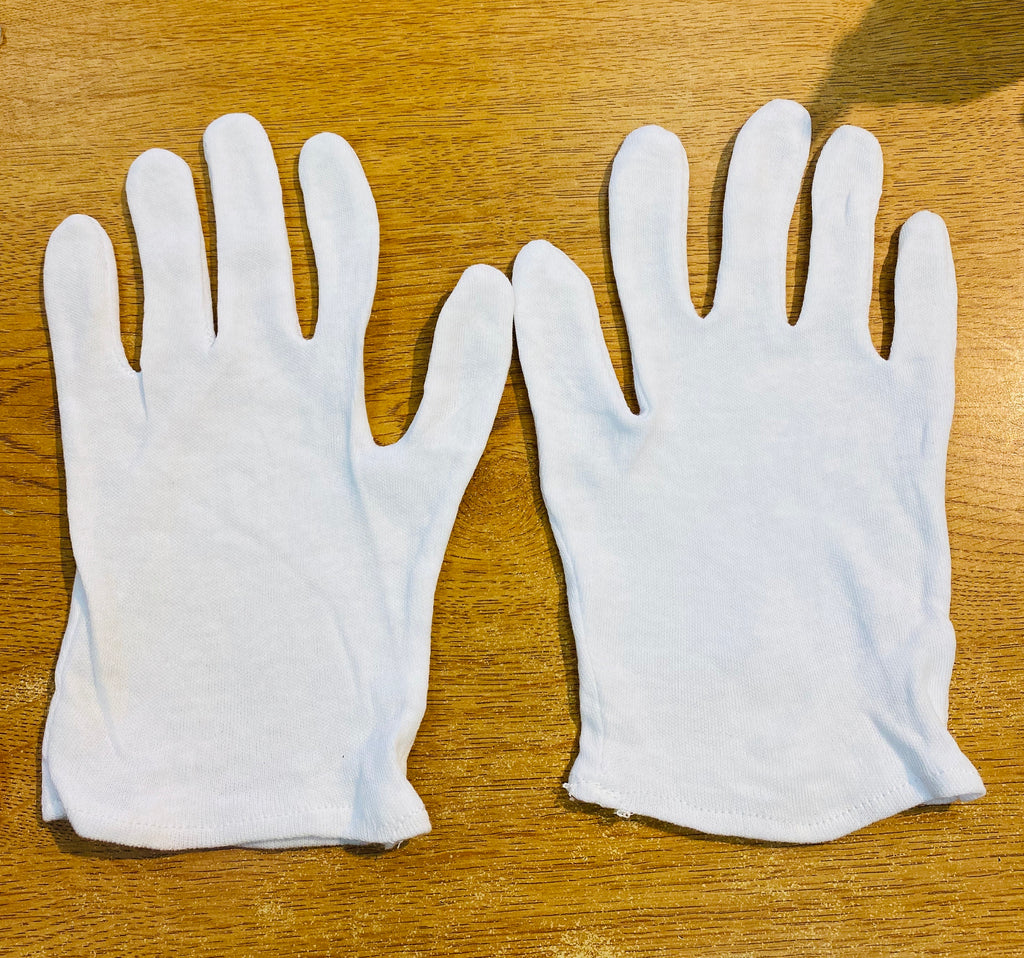 Cotton Gloves - set of 4