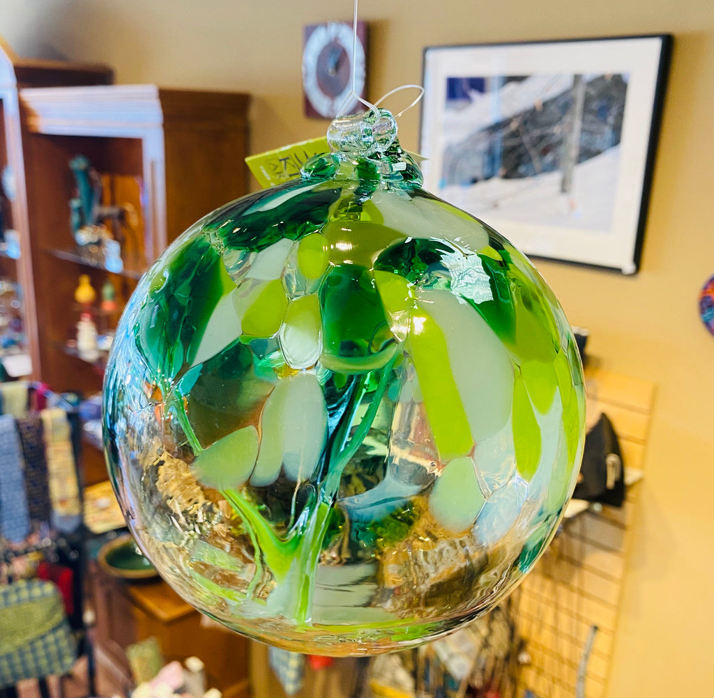 Glass Tree Ball - Well Being