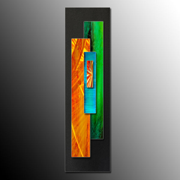 Contemporary Metal Wall Art Sculpture | Home or Office Decor ...