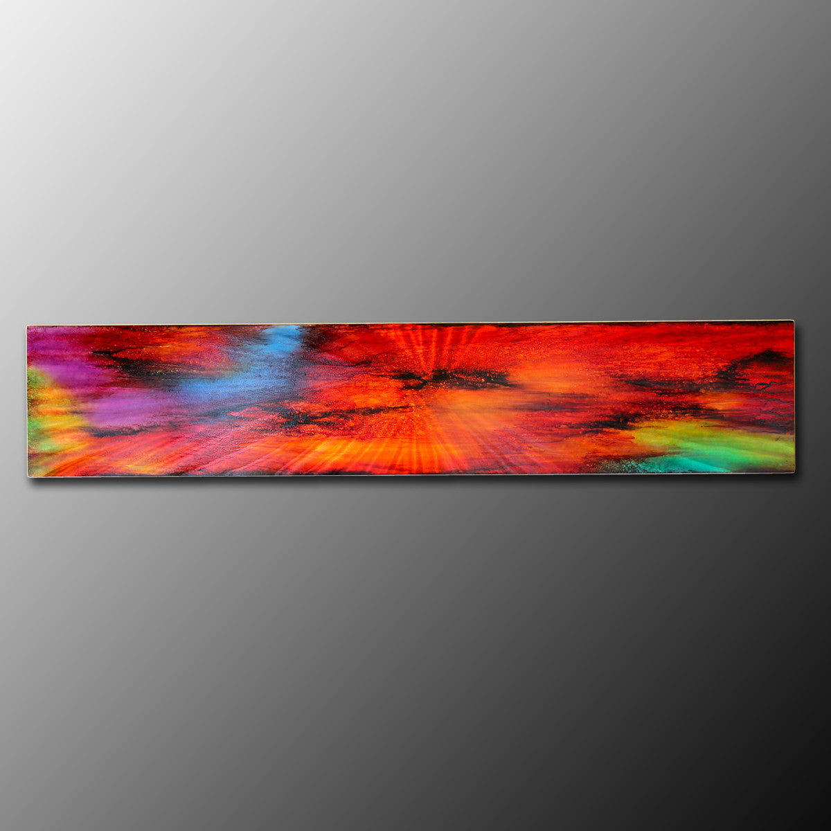 "Unusual Wall Art ""Kaleidoscope on Metal"""