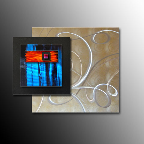 Square Metal Wall Art