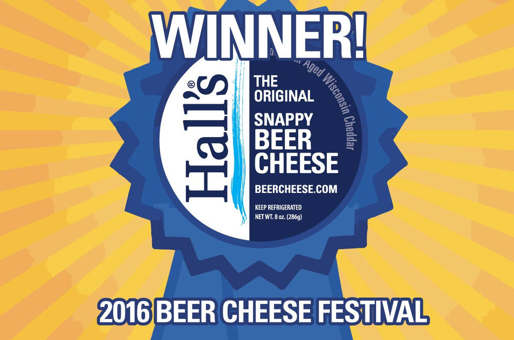 Hall's Beer Cheese Wins People's Choice Award