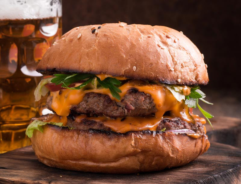 Create the Ultimate Cheeseburger with Hall's Beer Cheese!