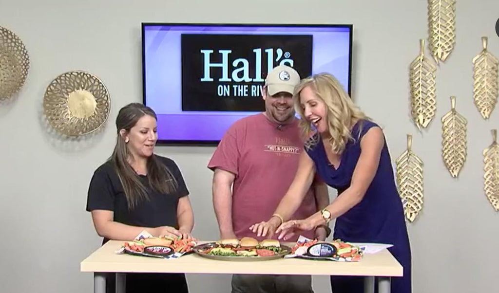 ABC 36's Midday Kentucky Program Gives Hall's a Taste