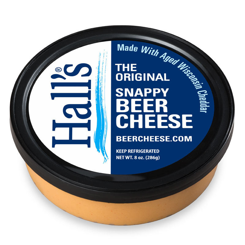 The real Hall's beer cheese will be in stores soon
