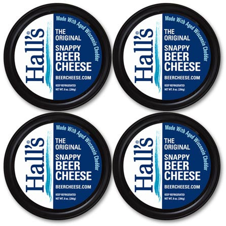 Hall's Original Snappy Beer Cheese 4 pack.