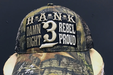 Damn Right Rebel Proud Cap