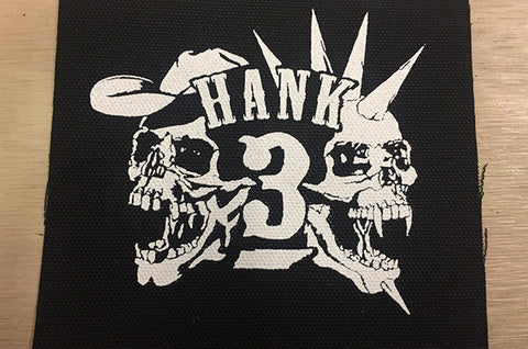 Hank 3 Car Stickers
