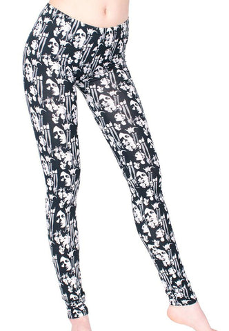Vintage Print Leggings