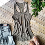 Women's Racerback Layering Tank Top