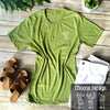 Women's Cactus Design Long Length T-shirt