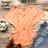 Vintage Light Orange