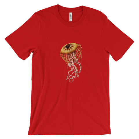 Colour Jelly fish Diver Collection Unisex short sleeve t-shirt  (Free Shipping )