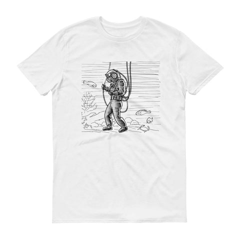 Diver design collection Short sleeve t-shirt (Free Shipping)