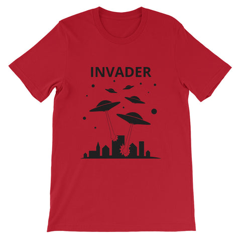 Invader Short-Sleeve Unisex T-Shirt (Invader collection, free shipping)