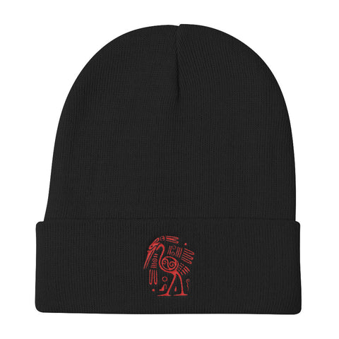 The Aztec Collection Anubis Bird Knit Beanie (Free shipping)