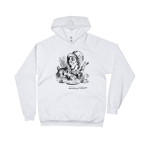 Designer Mad Hatter Hoodie (Free shipping)