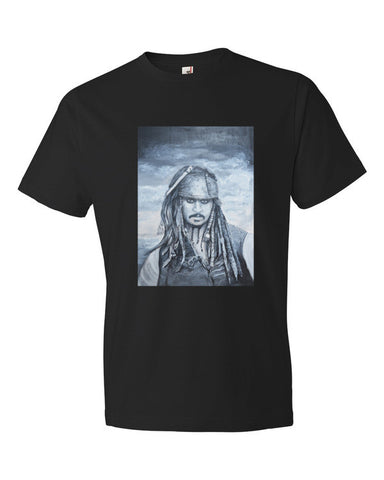 Jack Sparrow Short sleeve t-shirt (Free shipping)