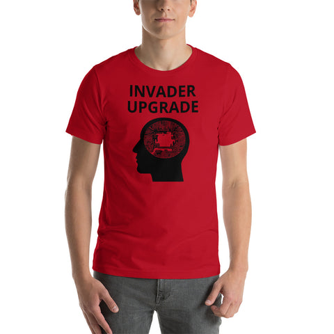 Invader upgrade Short-Sleeve Unisex T-Shirt (Free shipping )