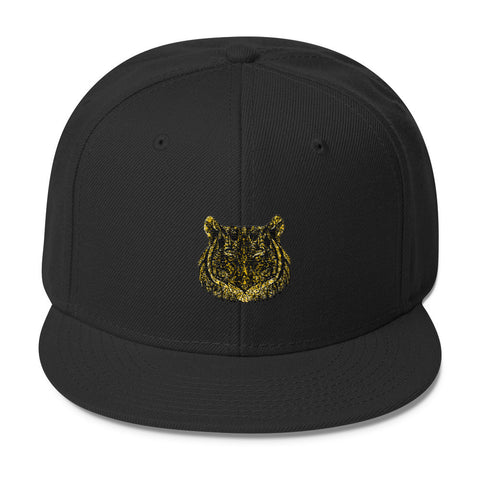 The Aztec Collection Aztec Tiger Wool Blend Snapback Hat (Free shipping)