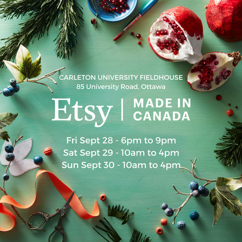 Etsy Made In Canada Poster