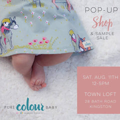 Town Loft Littles Pop-Up Event Poster