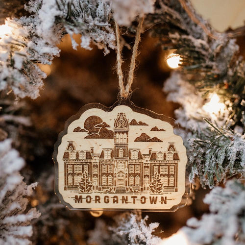 Morgantown Ornament - Loving West Virginia (LovingWV)