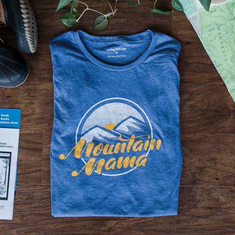 Mountain Mama - Women's Fit - Loving West Virginia (LovingWV)