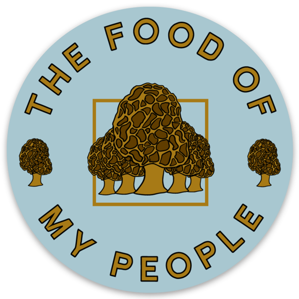 Morels - Food of My People - Sticker - Loving West Virginia (LovingWV)
