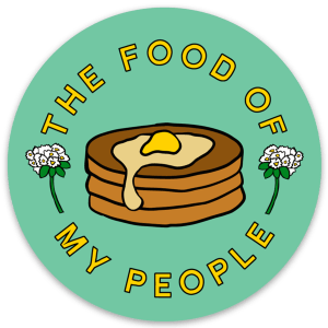 Buckwheat Pancakes - Food Of My People - Sticker