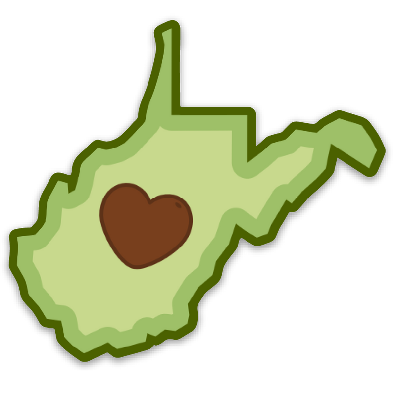 Avocado - Sticker