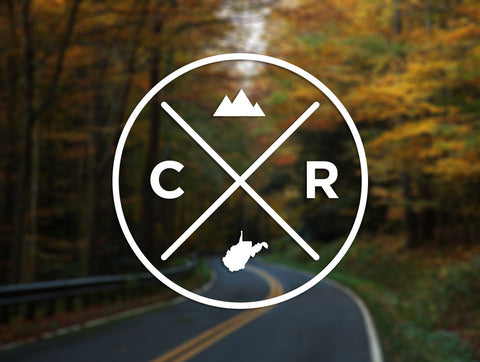 Country Roads Decal