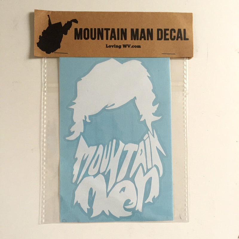 Mountain Man Decal - Loving West Virginia (LovingWV)