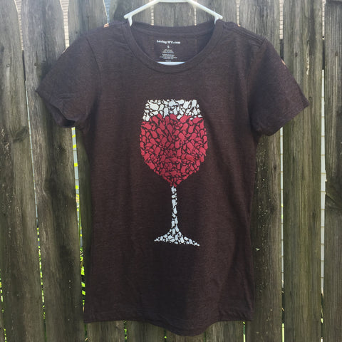 Womens West Virginia Wino - Loving West Virginia (LovingWV)