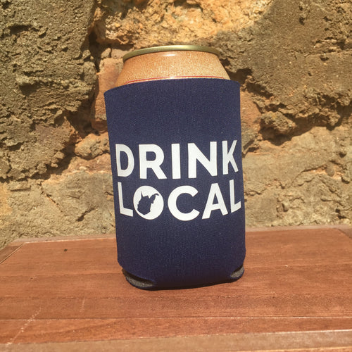 Drink Local Can Cooler - Loving West Virginia (LovingWV)
