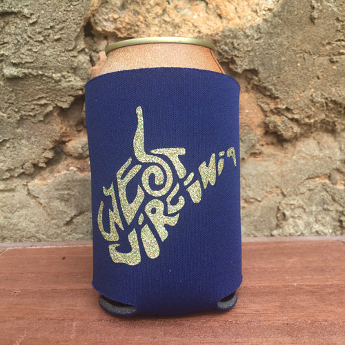 West Virginia Doodle Can Cooler - Loving West Virginia (LovingWV)