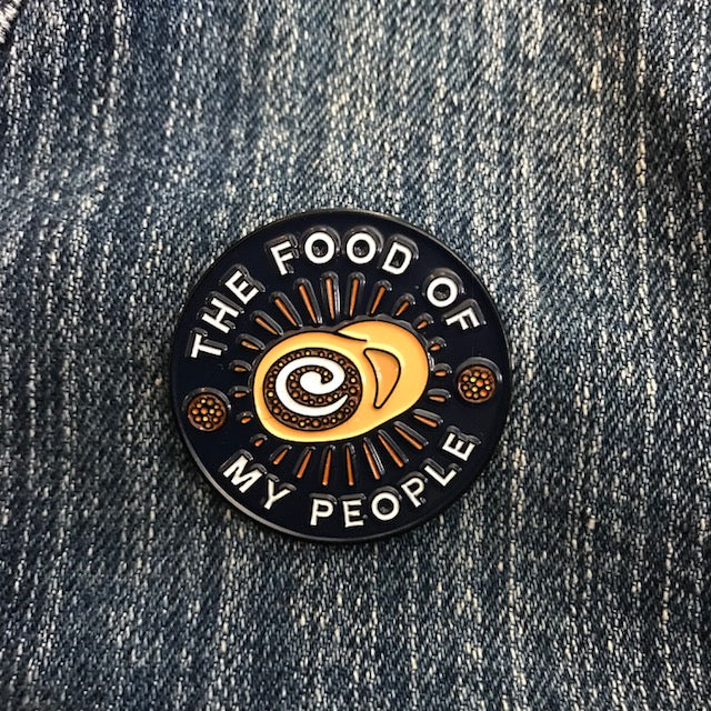 Food Of My People Lapel Pin - Loving West Virginia (LovingWV)