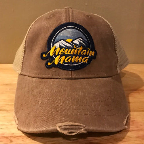 Mountain Mama Patch Hat - Loving West Virginia (LovingWV)