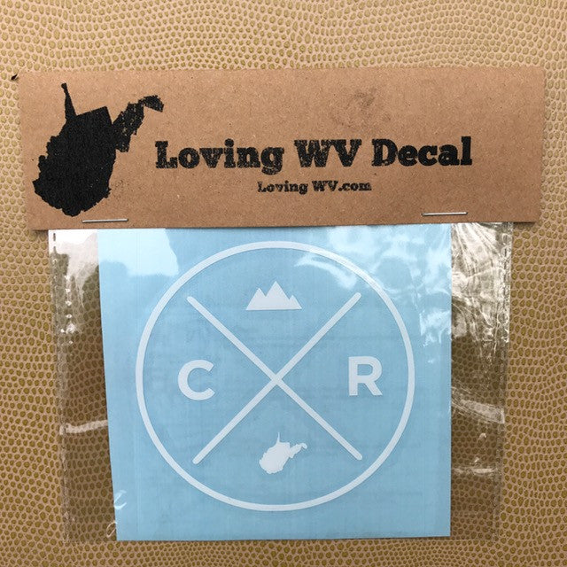 Country Roads Decal - Loving West Virginia (LovingWV)