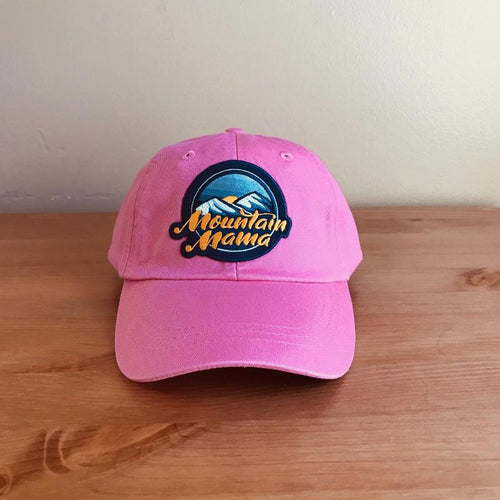 Mountain Mama Patch Hat - Clean - Pink - Loving West Virginia (LovingWV)
