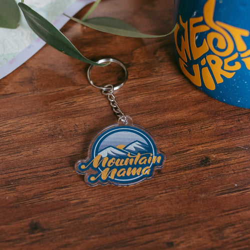 Mountain Mama Keychain - Loving West Virginia (LovingWV)
